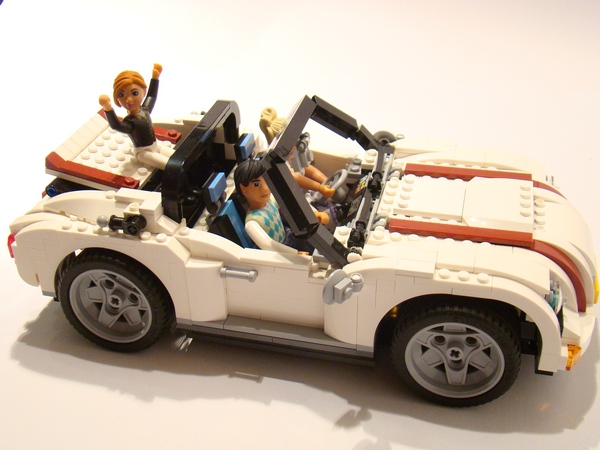 Review 4993 Creator Cool Convertible Special Lego